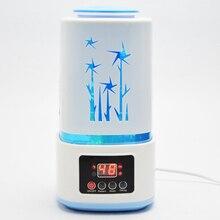 Новый Ультразвуковой Увлажнитель Ароматерапия Диффузор Fogger Mist Чайник Арома Лампы Ультразвуковая Арома Диффузор со СВЕТОДИОДНОЙ Подсветкой