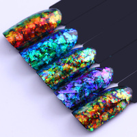 BORN PRETTY Chameleon Nail Sequins 0.2g Cloud Paillette Irregular Glitter Powder Flakes DIY Nail Art Decorations Accessories