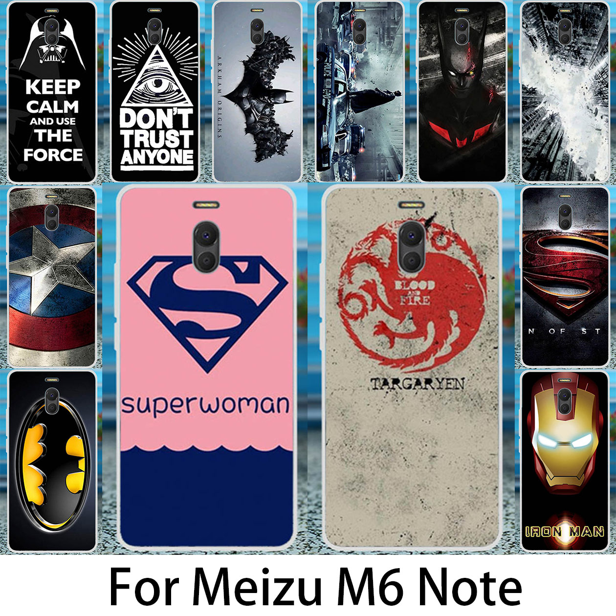 Akabeila Phone Case For font b Meizu b font M6 Note Meilan Note 6 font b