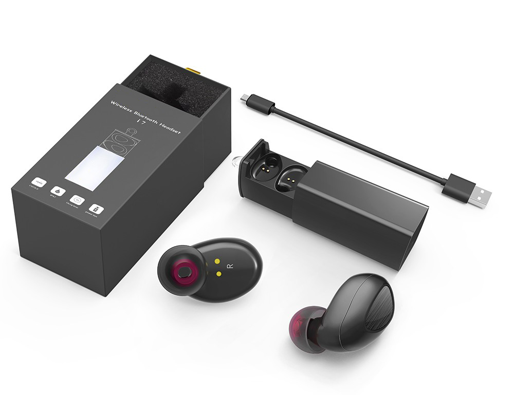 TWS Twins True mini Wireless stereo Bluetooth Earphone Bluetooth 4.1 bluetooth Handsfree headset with Charging Box Dock Earbuds twins true tws wireless bluetooth earphone stereo mini two earbuds portable handsfree in ear with charging socket box dock