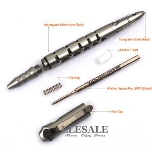 Image 2 - NexTool recharge dencre noire pour stylo tactique KT5506 avec stylo Fisher Space # SPR4, pour lauto défense, brise verre et survie, outil EDC