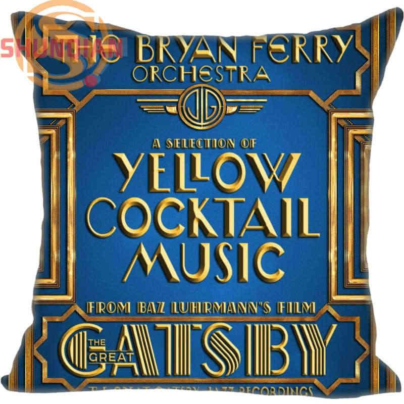 Venda quente Grande Gatsby Casamento Decorativa Fronha Fronha Personalizar Presente Para Fronha A311 & 41
