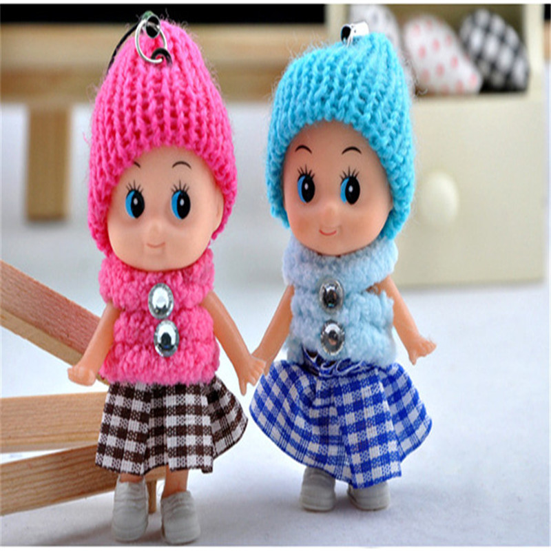 Kids Toys Soft Interactive Baby Dolls Toy Mini Doll For Girls Free