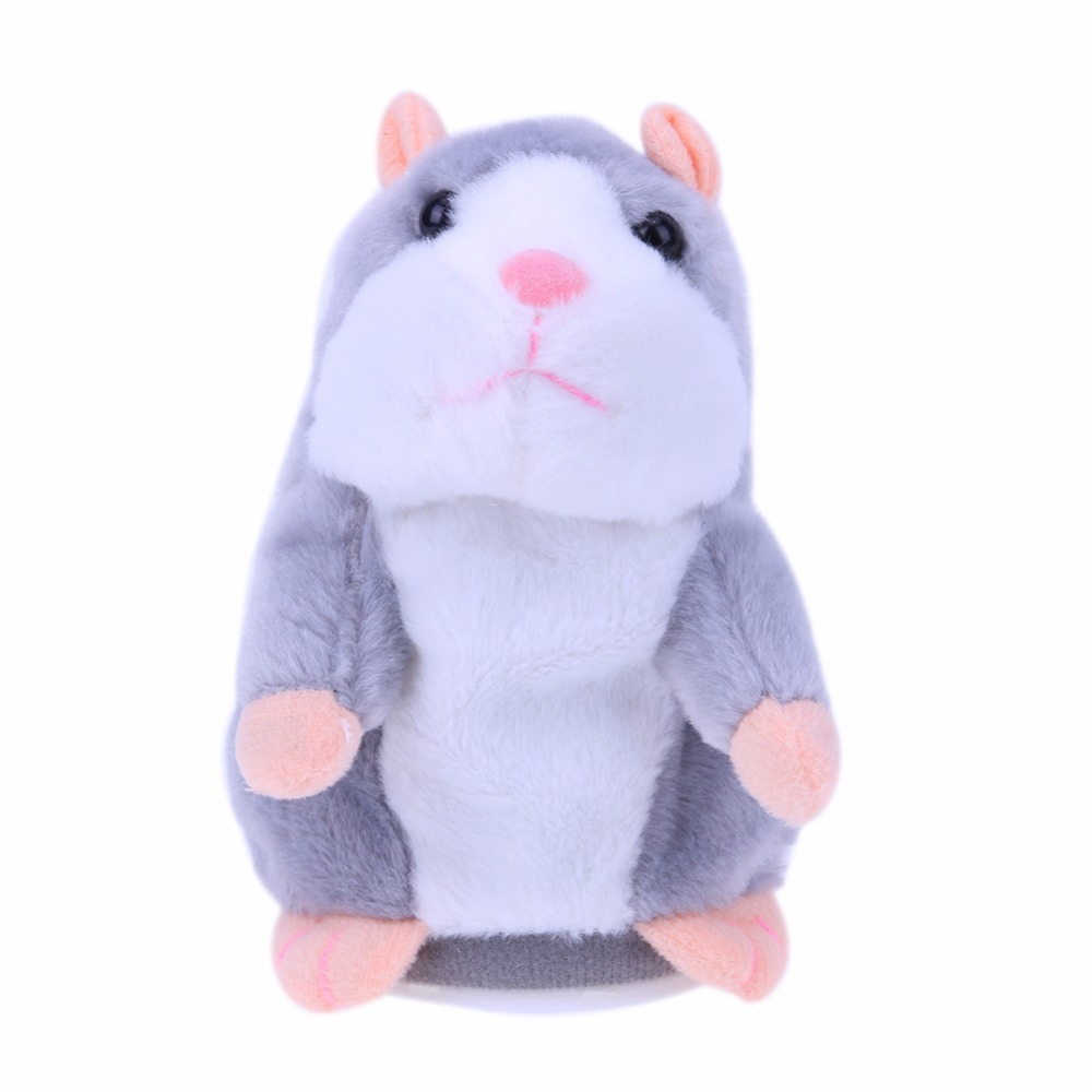 Image 3 - Kids Hamster Plush Speak Sound Toys Baby Electronic Pets Cute Plush Dolls Sound Record Speaking Hamster Talking Toys Xmas Gifts-in Electronic Pets from Toys & Hobbies