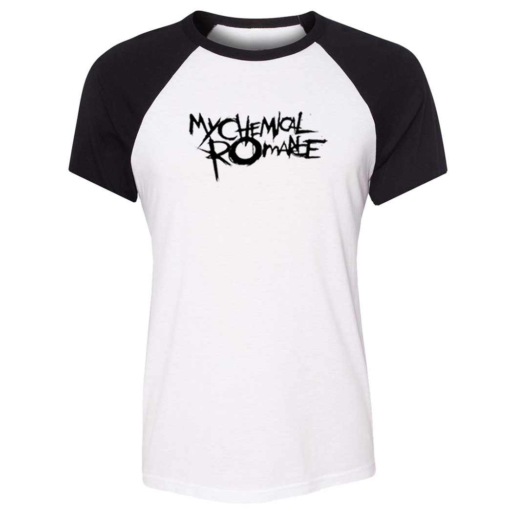 MY CHEMICAL ROMANCE Raglan T Shirt Women Motorcycle KTM Off Road T-shirt Girl's Short Tshirt ONE OK ROCK Summer Tops Holiday Tee
