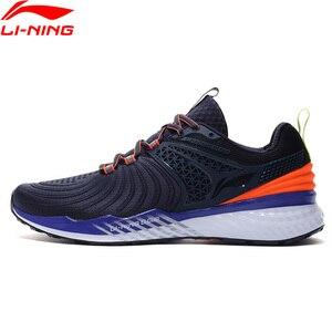 Image 2 - Li ning mężczyźni LN CLOUD 2019 V2 poduszki świecące buty do biegania stabilne wsparcie LiNing Bounce buty sportowe trampki ARHP013 SJFM19