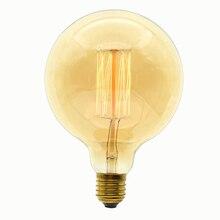 Ретро Винтаж можно использовать энергосберегающую лампу или светодиодную лампочку), 40 Вт/60 Вт 220 V E27 G125 нити ампулы Винтаж Ретро лампа накаливания Эдисона лампа