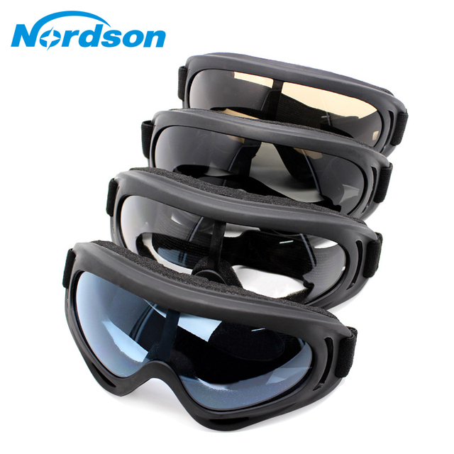 5a593f36448 Nordson Motorcycle Goggles Glasses Outdoor Sports Ski Bike Motobike Moto  Windshield Eyeglasses Outdoor Goggle Sunglasses