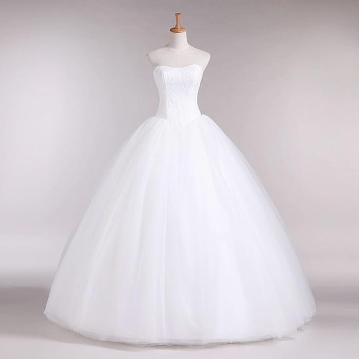 Νέα γραμμή A Lace Sweetheart από τον ώμο - Γαμήλια φορέματα - Φωτογραφία 3