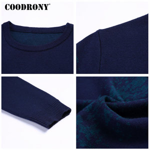 Image 5 - COODRONY Sweater Men Casual O Neck Pullover Men Clothes 2020 Autumn Winter New Arrival Top Sost Warm Mens Cashmere Sweaters 8257