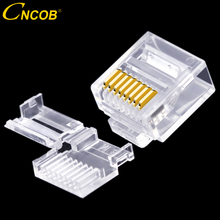CNCOB Cat6 utp short body, two pieces, flat cable