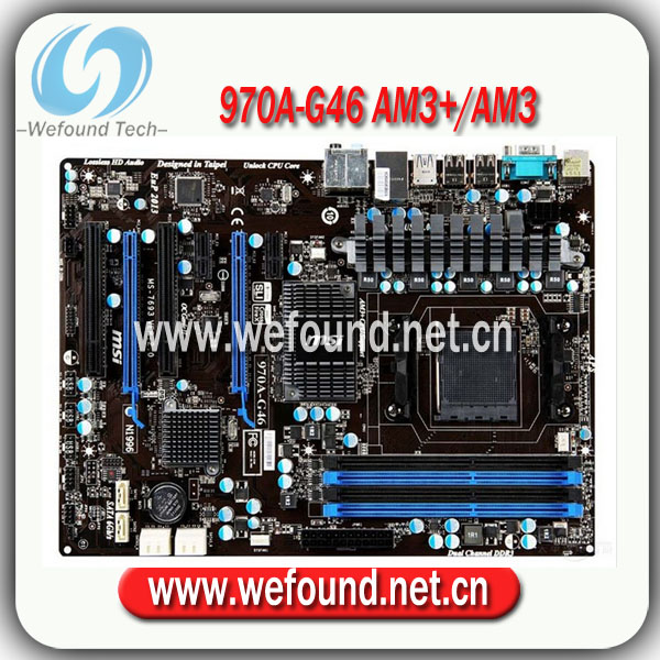 100 test and working desktop motherboard for msi 970a g46 am3 am3 rh aliexpress com MSI 970 Drivers MSI 970 Drivers