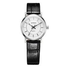 2016 Marca de Lujo Reloj de Las Mujeres de Moda Señoras Reloj de Cuarzo Vestido de Las Muchachas de Cuero Impermeable Relojes Reloj Montre Femme