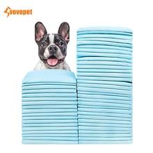 VOVOPET Disposable Super Absorbent Pet Dog Diaper Healthy Clean Antibacterial Puppy Training Pee Nappy Paper Mat(100pcs/50pcs)