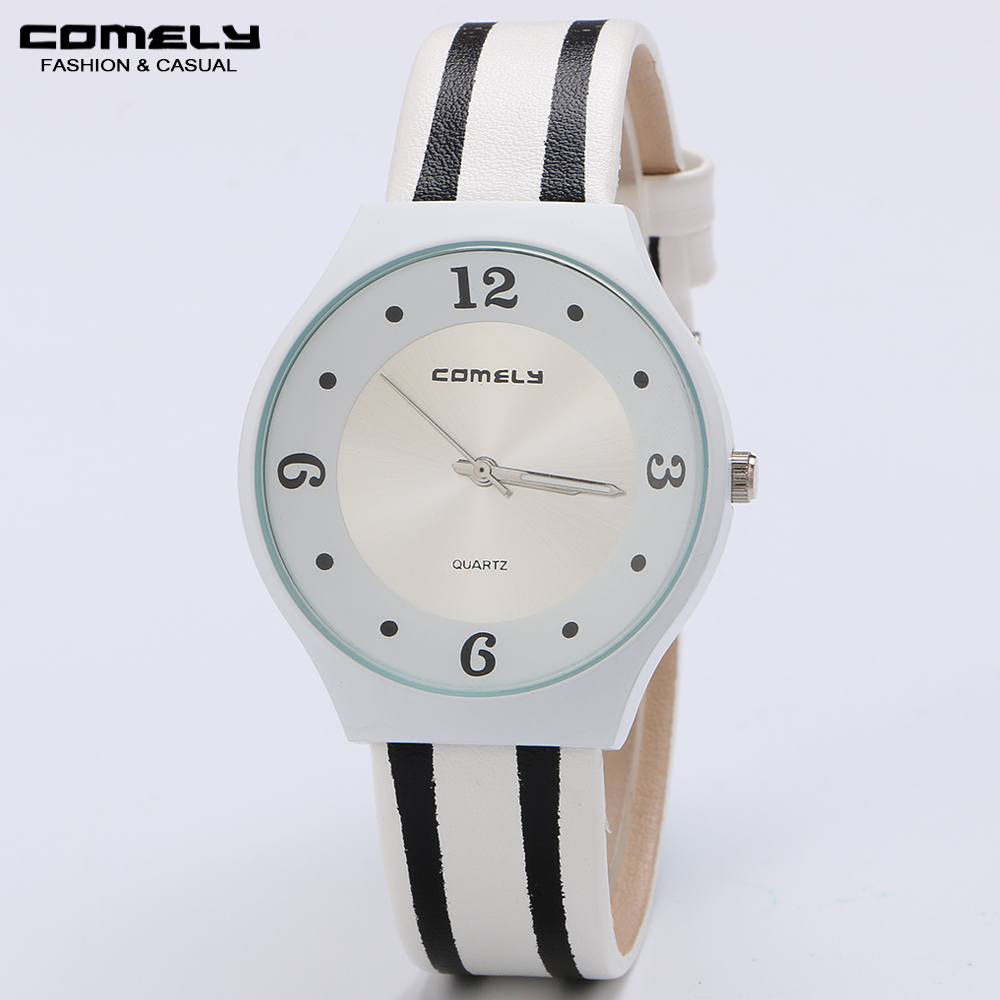 цены Fashion New Women Classic Watches Leather Strap Round shape Casual Outdoor Sports Quartz Business Wristwatches