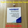 2450mAh TLp017A1 TLp017A2 Battery For ALCATEL One touch idol mini OT6012 6012E 6012D S530T OT-6012A OT-6012D OT-6012E OT-6012W