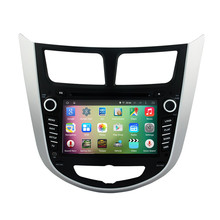 7″ Android 5.1.1 Quad Core Car Radio DVD GPS Navigation Central Multimedia for Hyundai Verna Accent Solaris 2011 2012 3G WIFI