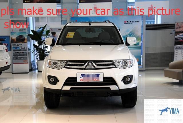 ¡ Nuevo! para Mitsubishi Montero Pajero Sport 2011-2014 Ventana Toldos Viseras Deflector de Viento Lluvia Visera Guardia Vent 4 unids/set
