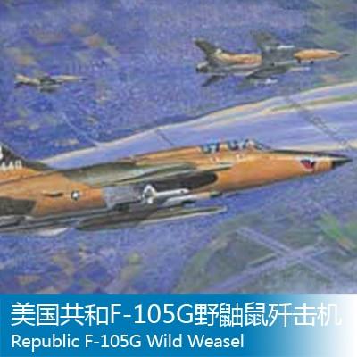 Assembly model 1/32 American Republic F-105G aircraft Trumpet hands model Toys 1 400 jinair 777 200er hogan korea kim aircraft model