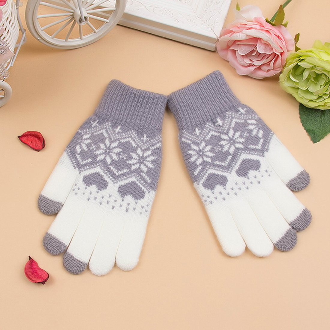 Back To Search Resultsapparel Accessories Collection Here Miya Mona 2019 Couple Fashion Men Black Gloves Winter Lattice Leather Car Driving Mitten