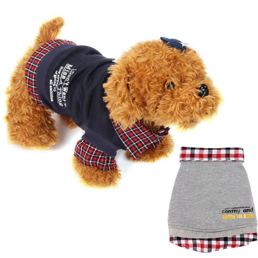 Alta calidad Otoño Invierno Para Mascotas Ropa para Perros Mascotas Productos Pa