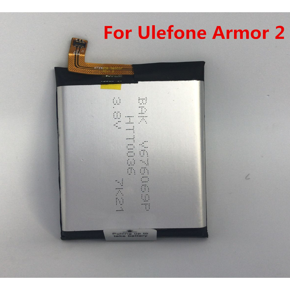 Cellphones & Telecommunications 4700mah Battery For Ulefone Armor 2 Ip68 Waterproof Android 7.0 5.0 Fhd Mtk6757 Mobile Phone Batteries Tested In Stock Mobile Phone Batteries