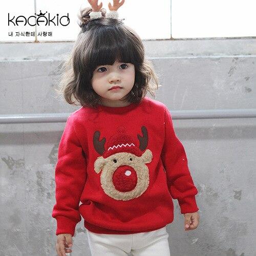 Kacakid-children-warm-sweatshirts-boys-girls-thicken-velvet-cartoon-hoodies-shirt-kids-cute-elk-soft-coat-christam-gift-2