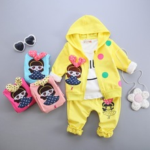 leisure boys children's clothing sets autumn spring cotton suit zipper Jacket minnie Kids girls baby christmas outfits clothes