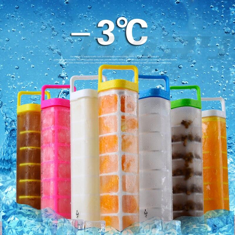 웃 유Sílice gel de hielo hecho en casa bloque botellas de agua ...
