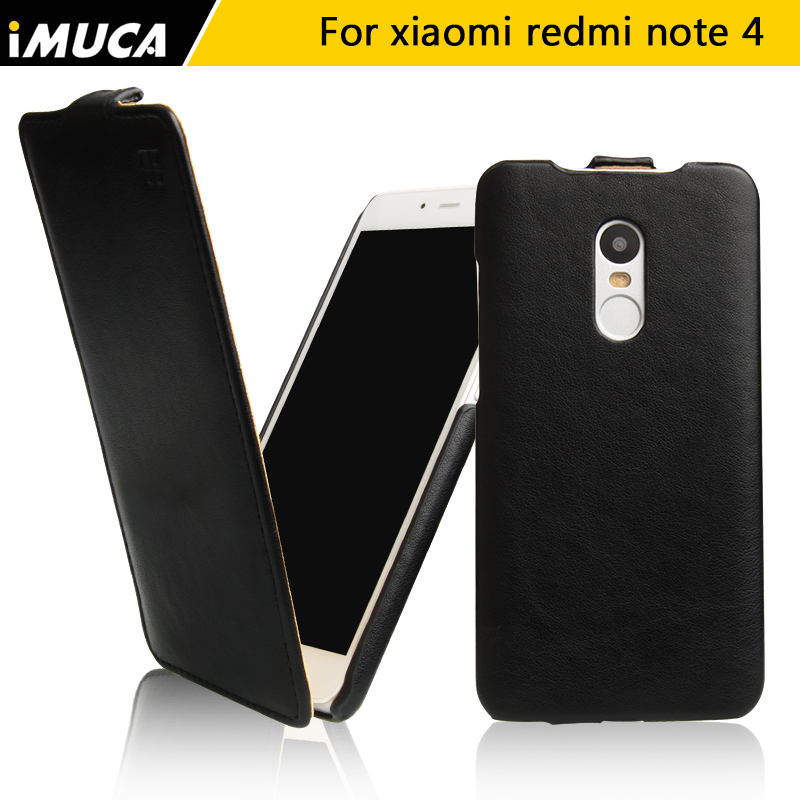 Xiaomi Redmi Note 4 Case Cover Redmi Note 4 Pro Case iMUCA Flip Leather Case For Xiaomi Redmi Note 4 Funda Anti-knock Phone Case