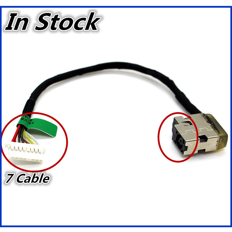 New For HP 15-AF 15-AC 15-AE 250 255 G4 15Z-BA 15-BN 15-AY TPN-I120 TPN-C125 TPN-C120 DC Power Jack Cable Charging Wire Cord клавиатура zip 455214 для hp pavilion 15 ac 15 af 15 ay 15 ba 250 g4 255 g4 250 g5 hp 255 g5 black