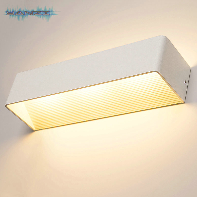 Surface Mount Wall Sconce 6W Warm White LED Wall Lamp Bedroom Bedside Lamp Light Modern Minimalist
