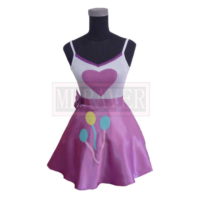 Пинки Пирог олицетворение униформа косплей костюм изготовленный на заказ любой размер