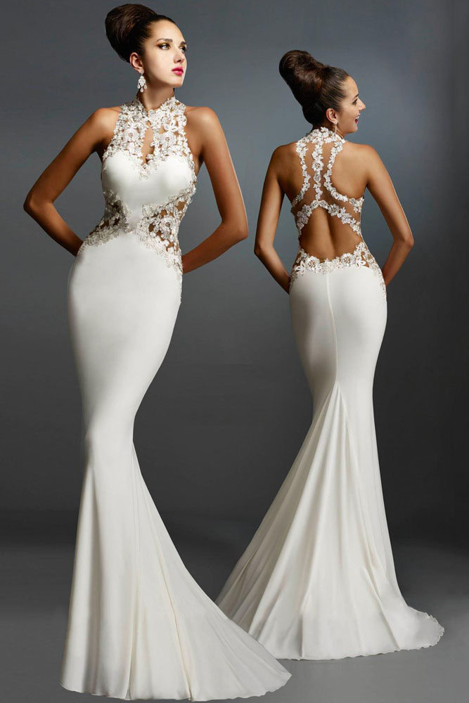 Online Buy Wholesale white evening gowns for women from China ...
