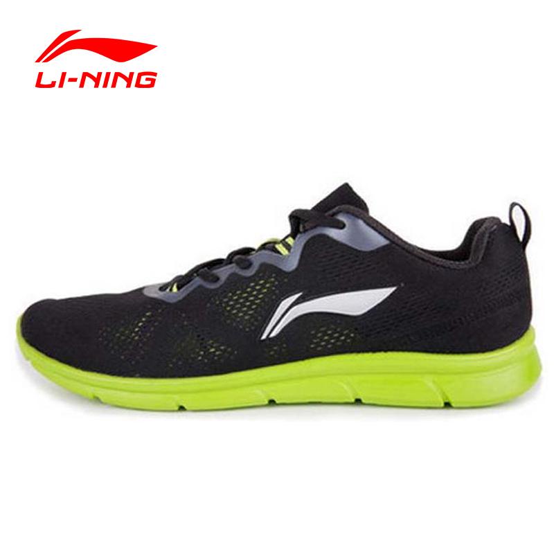 Prix pour Li-Ning de Course En Plein Air Chaussures Hommes Lumière Air Mesh Respirant Rembourrage Dentelle-Up Sneakers Sport Chaussures Li-Ning ARHK093 XYP252
