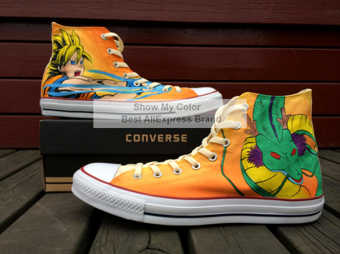 dragon ball z converse