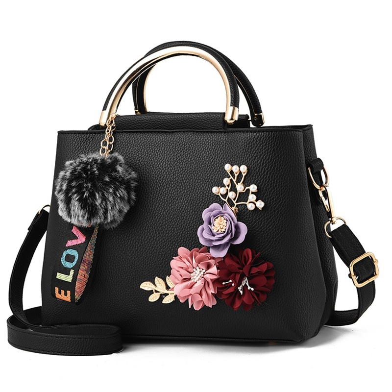 2018 Color Flowers Shell Women Tote Leather Clutch Bag Small Ladies Handbags Brand Women Messenger Bags Sac A Main Fem micocah brand new vintage bags retro pu leather tote bag women messenger bags small clutch ladies handbags m07028