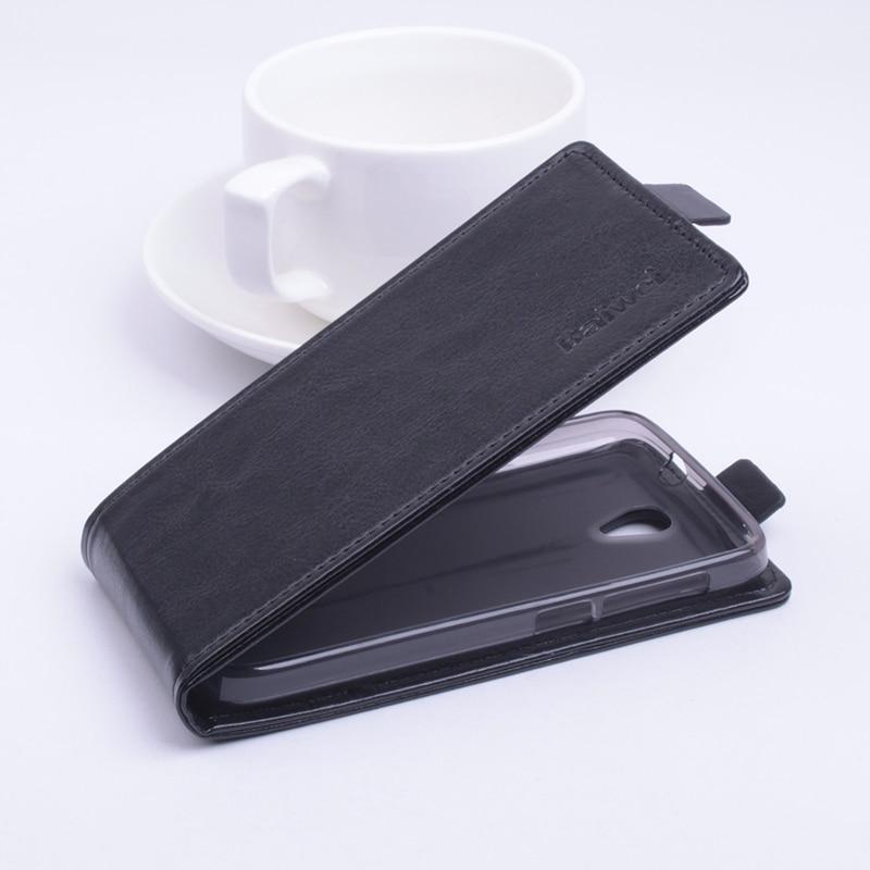 Luxury Balik Kulit Tutup Kasus untuk Alcatel One Touch Pop 2 Pop2 M5 - Aksesori dan suku cadang ponsel - Foto 3