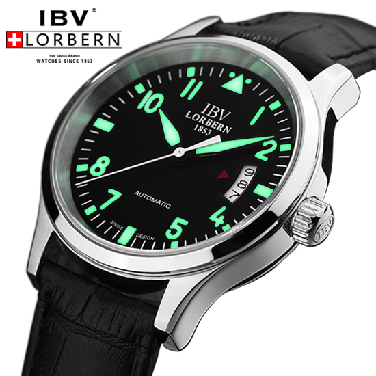 aliexpress com buy ibv brand pilot watch aviator watches diving aliexpress com buy ibv brand pilot watch aviator watches diving men s mechanical self wind automatic luminous dial date military watch from reliable watch