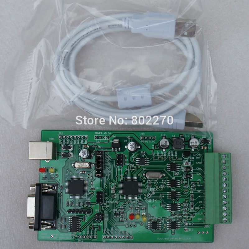ET7190 KITs vehicle Auto/Car Diagnosis Can-Bus OBD/OBD2/OBD-II development tool Demoboard/Demo board ECU simulator блуза com mix цвет розовый