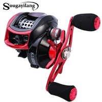 Sougayilang 13BB Baitcasting bobine gauche/droite main coulée pêche bobine Max glisser 10kg roues basse pêche matériel Pesca