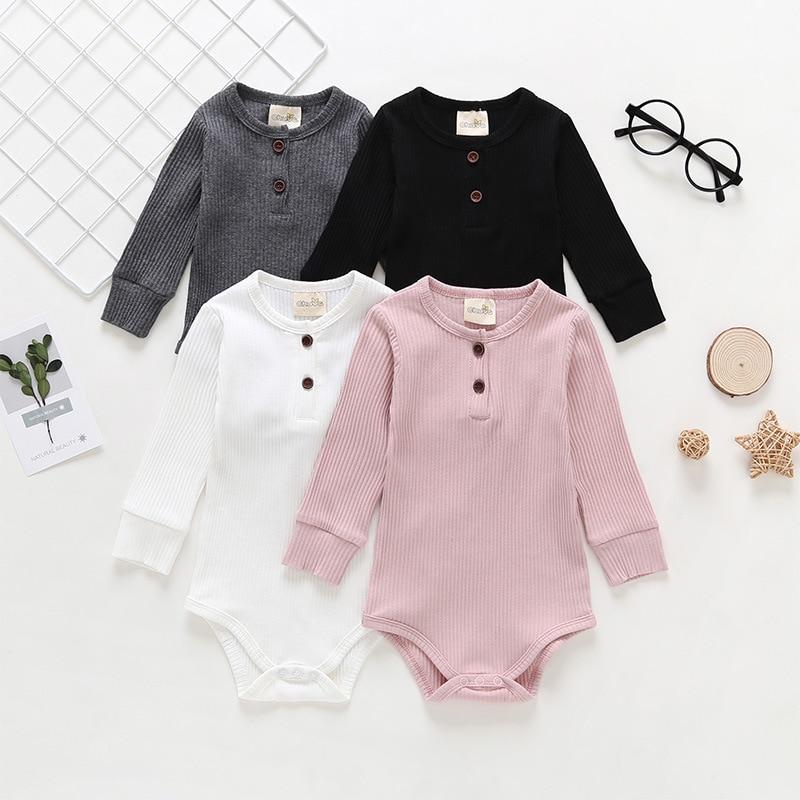 Baby Boys Girls Clothes 2019 Fashion BOY Clothing Newborn Overall Children Girl Romper 6 9 12 18 24 Month