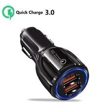 Car Charger Quick Charge 3.0 USB For Toyota Corolla E210 2019 2020 Camry 40 50 RAV4 Yaris Prius Prado 120 fj150 Land Cruiser 80