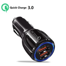 Car Charger Quick Charge 3.0 USB For Toyota Land Cruiser Prado 120 150 FJ120 2003 2004 2005 2006 2007 2008 2009 2020 Accessories