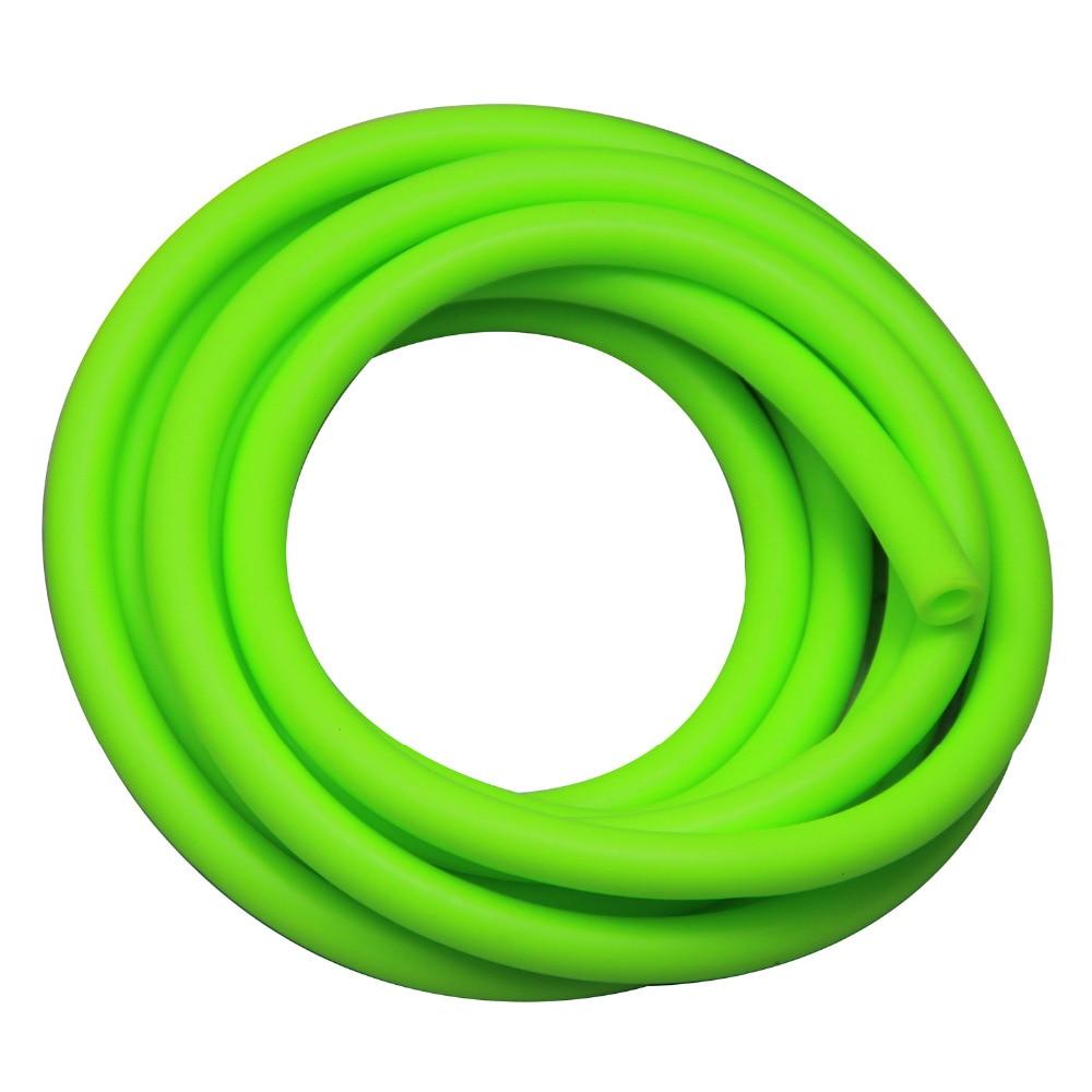 3m elastische multifunktionale Fitness Gürtel Krafttraining grün - Fitness und Bodybuilding - Foto 1