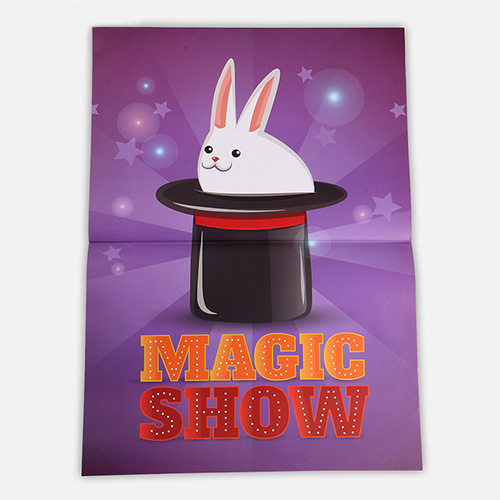 Funny Top Hat Magic Show Magic Tricks Hat Appearing from Poster Magia Magician Stage Illusion Accessories Gimmick Props magic hat snowman printed environmental removable door stickers
