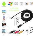8mm 10m endoscope android endoscopy camera car endoscopia micro flexibe usb endoscopio laparoscopic borescope vedio mini AV ip67