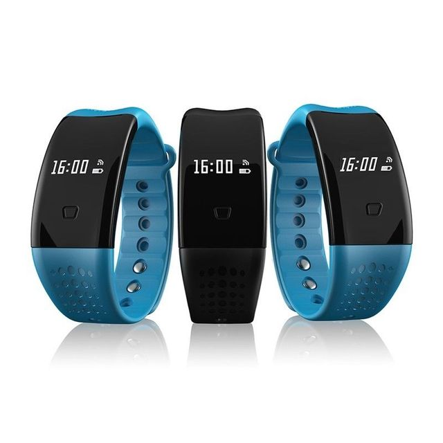 Smartband Bluetooth Wristband Blood Pressure Oxygen Heart Rate for Android IOS