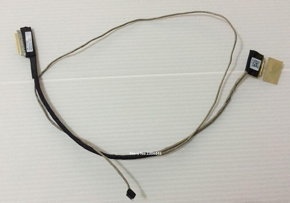 WZSM NEW LCD screen video cable for Lenovo B50-30 B50-70 B50-45 B50 B50-75 ziwb1 Flex cable touch P/N DC02001XO00 genuine for lenovo b50 b50 30 b50 45 b50 70 optical drive connector small board ls b095p