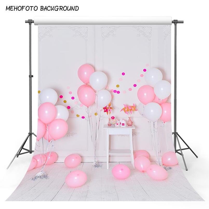 1st Birthday Backdrops For Photography Digital Print 5x7